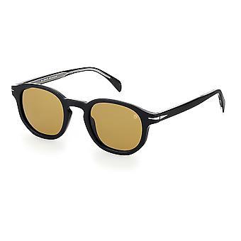 David Beckham DB1007/S 807/2M Black/Brown Sunglasses
