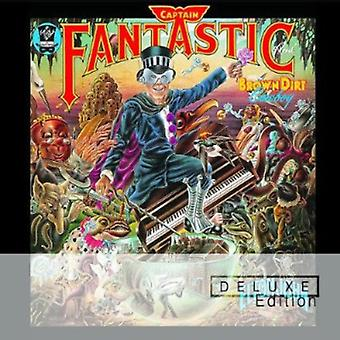Elton John - Captain Fantastic & USA Brown Dirt Cowboy [CD] importer