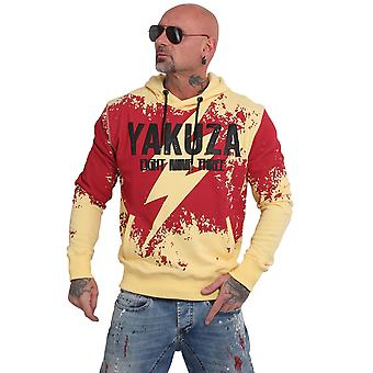 YAKUZA Men's Hooded Sweater Lightning