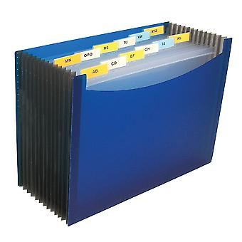 48235BNDL3EA, 13-Pocket Expanding File, Blue (Set of 3 Files)