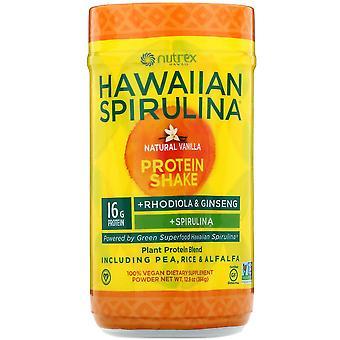 Nutrex Hawaii, Hawaiian Spirulina, Protein Shake, Natural Vanilla, 12.8 oz (364