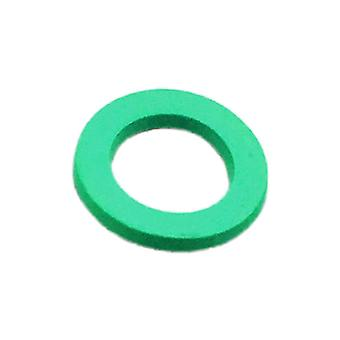 10PCS Rubber Faucet Rubber Seal 24MM Green Thin Section 2MM