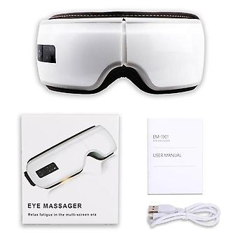 Vibration Eye Massager Wrinkle, Fatigue Relieve Hot Compressing Air Pressure