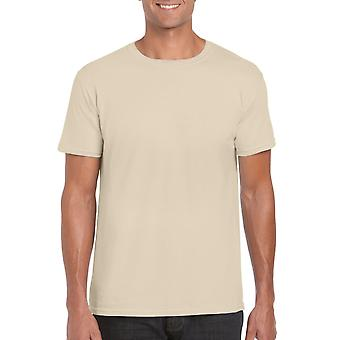 GILDAN G64000 Softstyle Men's T-Shirt in Sand