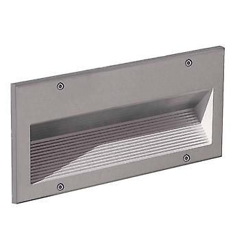 Outdoor Recessed Wall Light Grey 1x G24D3 IP44