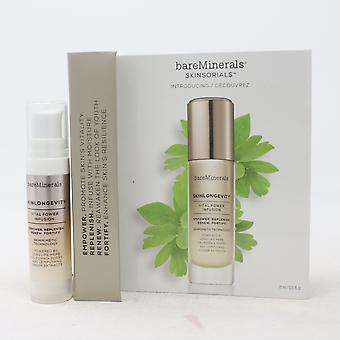 Bareminerals Skinlongevity Vital Power Infusion Mini 0.25oz/7.5ml Nuevo