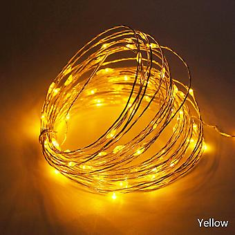 Usb Waterproof Led String Lights, Copper Wire Garland Fairy