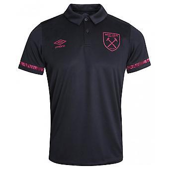 Camisa Poli Polo do West Ham 2020-2021 (Preta)