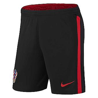 2020-2021 Kroatien Borta Shorts (Svart)
