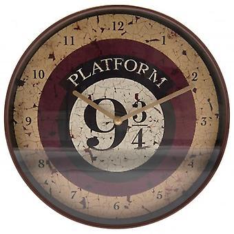 Harry Potter Wanduhr 9 & 3 Quartale