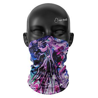 Marmor Farben Snood Gesicht Maske Schal Unisex Hals Gaiter Kopfbedeckung Wrap Buff Cover