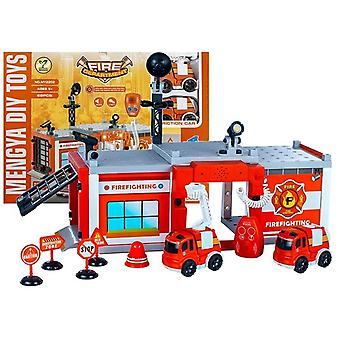 Toy fire station with cars's and sounds Toy fire station with cars's and sounds Toy fire station with cars's and sounds Toy