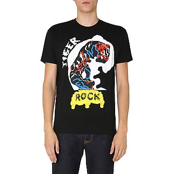 Vivienne Westwood 3701004121719n401 Men's Black Cotton T-shirt