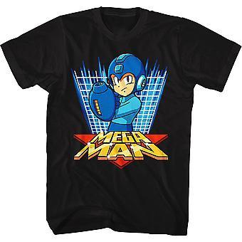 Power Grid Mega Man t-paita