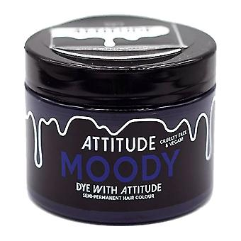 Attitude Semi Permanent Cruelty-free & Vegan Hair Dye - Moody Blue 135ml