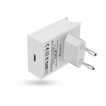 Charger USB type C 20W Power Delivery Quick Recharge Swissten White