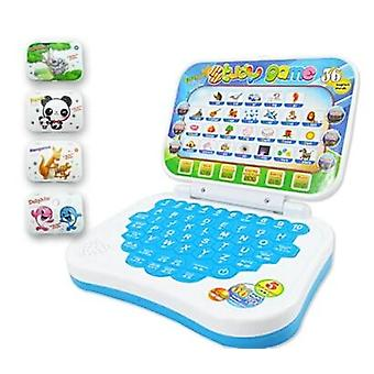 Mini E-school Pc Learning Machine Computer Laptop Baby Educational Game Toy,
