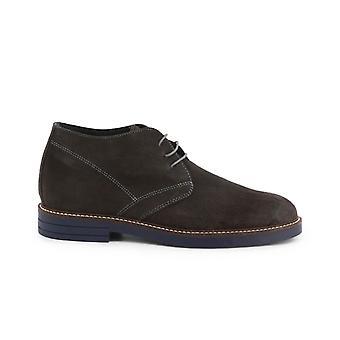 Madrid - 101_camoscio - men's suede laced shoes