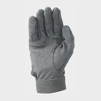 New Battles Kids' Cotton Pimple Palm Gloves Black