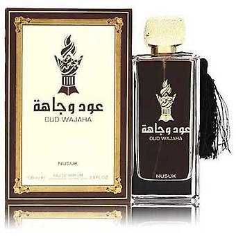 Nusuk Oud Wajaha By Nusuk Eau De Parfum Spray (unisex) 3.4 Oz (men) V728-553447