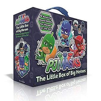 The Little Box of Big Heroes: Pj Maskers Save the Library; Hero School; Supera Cat Speed; Race naar de maan! (Pj Maskers) [Boordboek]