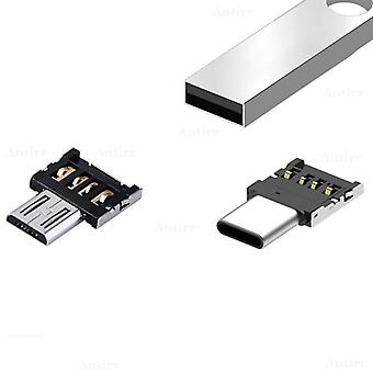 Micro Usb 2.0 Male To Female Otg Adapter, Converter