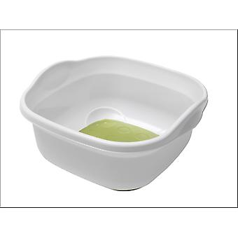 Addis Soft Touch Bowl White/ Grassy Green 513672
