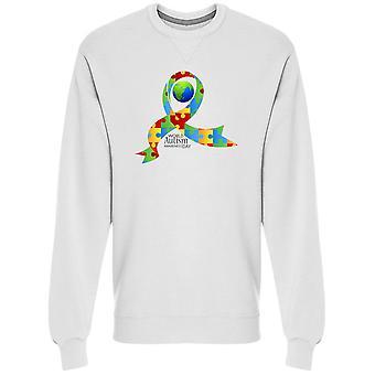 Puzzle Autisme Awareness Day Sweatshirt Menn's -Bilde av Shutterstock