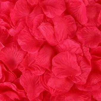 100pcs/pack 5*5cm Artificial Flowers Simulation Rose Petals Decorations