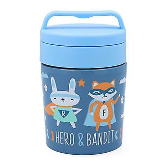 Thermos for Food Quid Go Hero Ruostumaton teräs 0