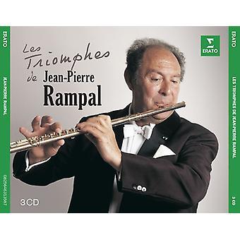 Rampal / Scimone / Paillard / Leppard - Triomphes De Rampal [CD] USA import