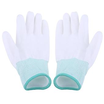 Antistatic Working Gloves-pu Coated, Finger Protection For Computer/phone