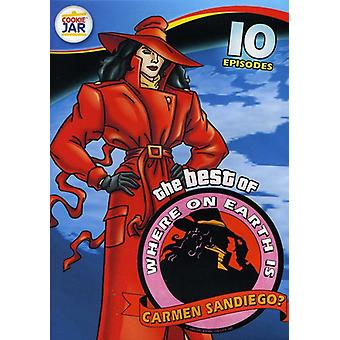 The Best of Where on Earth Is Carmen Sandiego?: 10 Episodes [DVD] USA import
