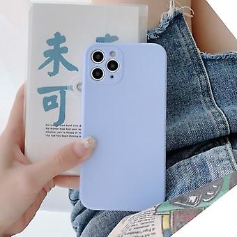 Scrub Thickened Plain Full Protective Cute Matte Solid Candy Phone Case