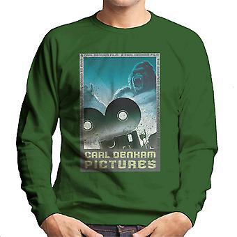 King Kong Carl Denham Pictures Men's Sweatshirt