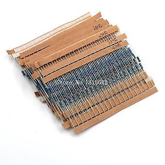 1/4w Metall Film Widerstand Kit 10 Ohm-1m Widerstand Pack 30 Werte jeder