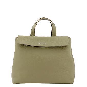 Orciani B02095softkaki Women's Green Leather Handbag