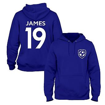 James Rodr�guez 19 Club Style Player Football Hoodie