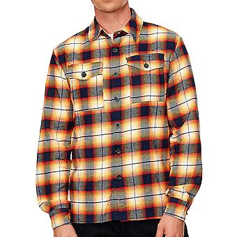 Men Flanell Shirt Checkshirt Urban Lumberjack Plaid Slim Fit Outdoor Leisure