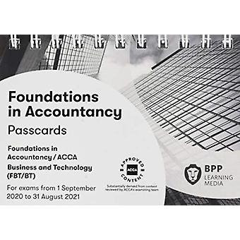 FIA Business and Technology FBT ACCA F1  Passcards by BPP Learning Media