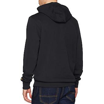 Neue Ära Mens NFL Pittsburgh Steelers Team Logo Pullover Hoodie Sweatshirt - schwarz