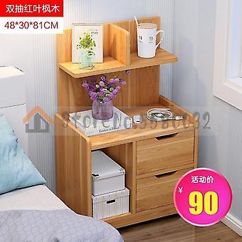 بسيطة السرير الجدول الرف السرير تخزين خزانة صغيرة