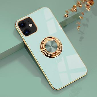 Luxurious Stylish Shell iPhone 12 Pro Max with Ring Stand Feature Gold