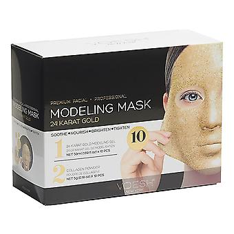 Voesh Premium Facial & Professional 24K Gold Modeling Mask