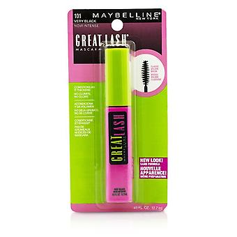 Maybelline groot Lash Mascara met klassieke Volume Brush - #101 zeer zwart 12.7ml/0.43oz