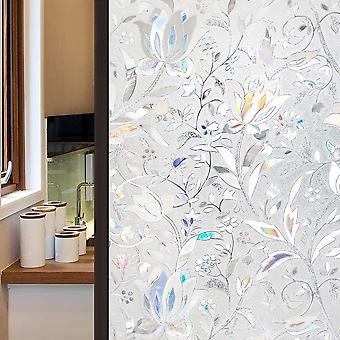 Stained Door Privatsphäre, Fenster Film Regenbogen Vinyl Glas, abnehmbare statische Cling,