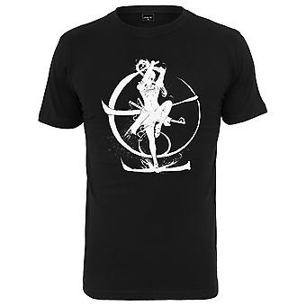 Mister Tee Graphic Shirt - White Samurai Black