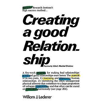 Hyvän suhteen luominen William J Lederer - 9780393301557 Kirja