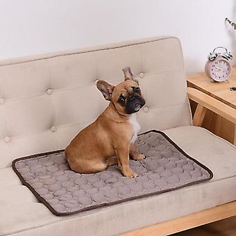 Dog Mat Cooling Summer Pad Mat For Dogs Cat Blanket Sofa Breathable