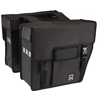 Willex Bicycle Bags Shopper 33 L Black 10701